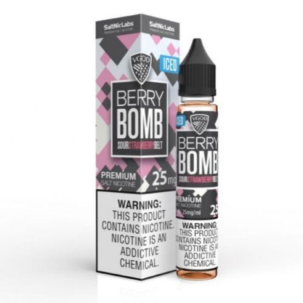 Picture of VGOD Berry Bomb Ice - Saltnic