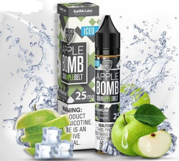 Picture of VGOD Apple Bomb Ice - Saltnic