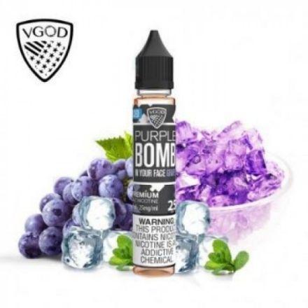Vgod Purple Bomb Ice Saltnic