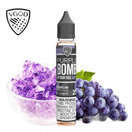صورة VGOD Purple Bomb - Saltnic