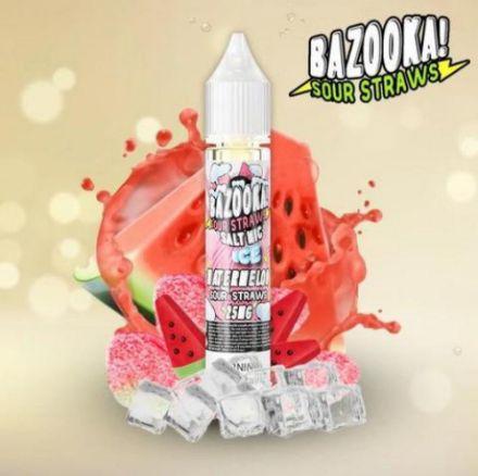 Bazooka Watermelon Ice - Saltnic